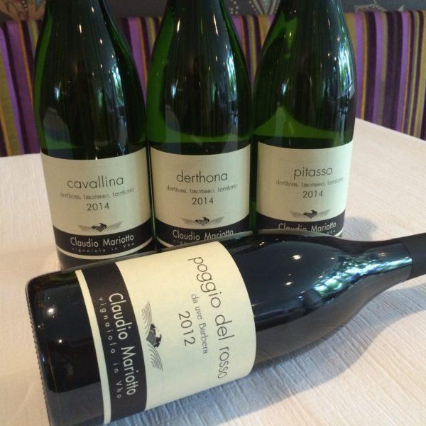 Claudio Mariotto, Timorasso, Weinkarte, Solothurn, Restaurant Stalden